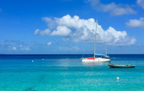 Join a cabin charter sailing holiday in the Grenadines with BlueFoot Travel and anchor in wonderful waters like these in Mustique